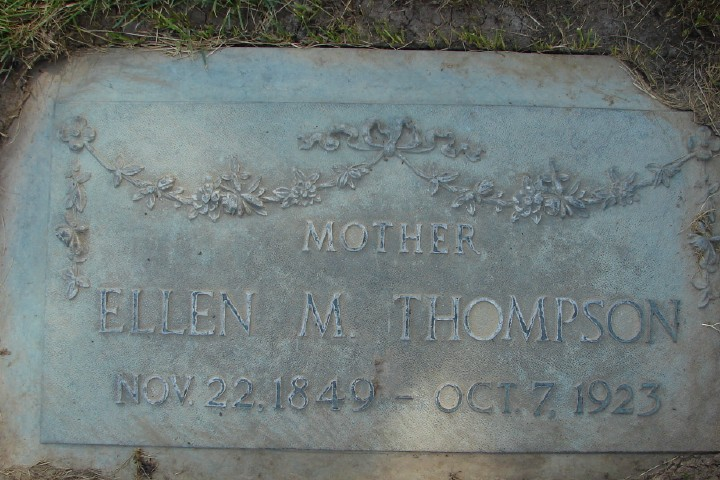 Ellen Mary <i>Bailey</i> McGregor Thompson