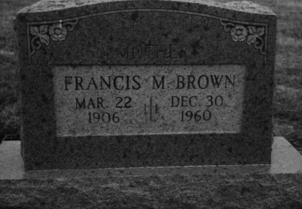 Francis Minnie <i>Wells</i> Brown