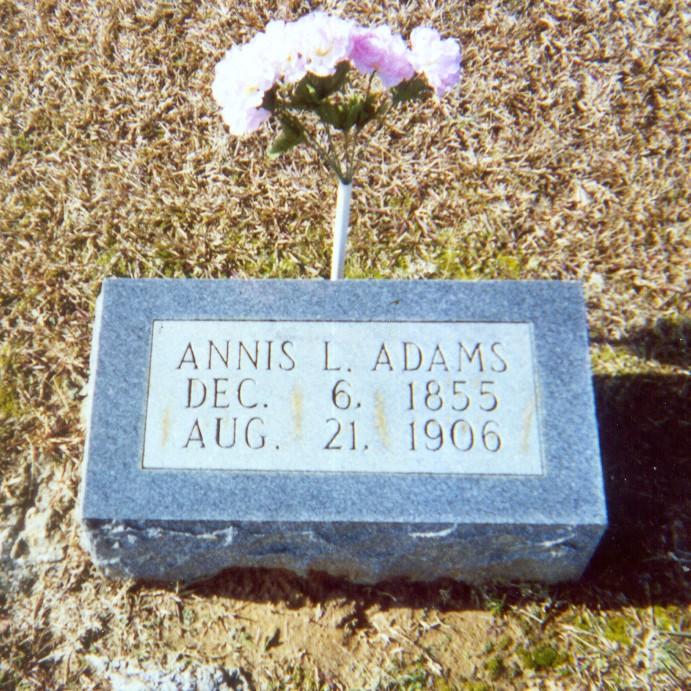 Annis L. <i>Guess</i> Adams