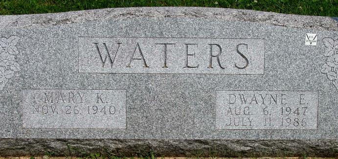 Dwayne Earle Waters
