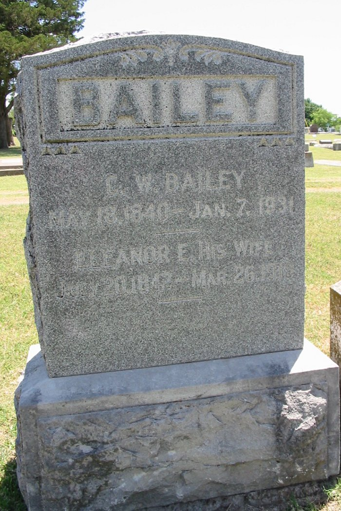 Pvt Charles Wesley Bailey