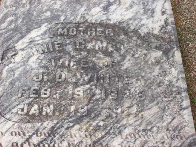 Ann Eliza Fannie <i>Maynor</i> White