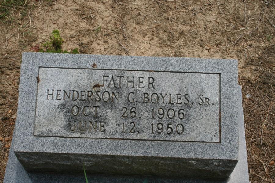 Henderson G. Boyles, Sr