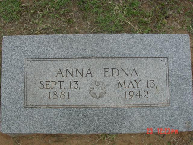 Anna Edna <i>Kindred</i> Holmes