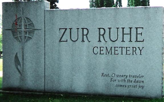 Zur Ruhe Cemetery