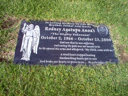 Rodney Agatupu Yokozuna Anoai