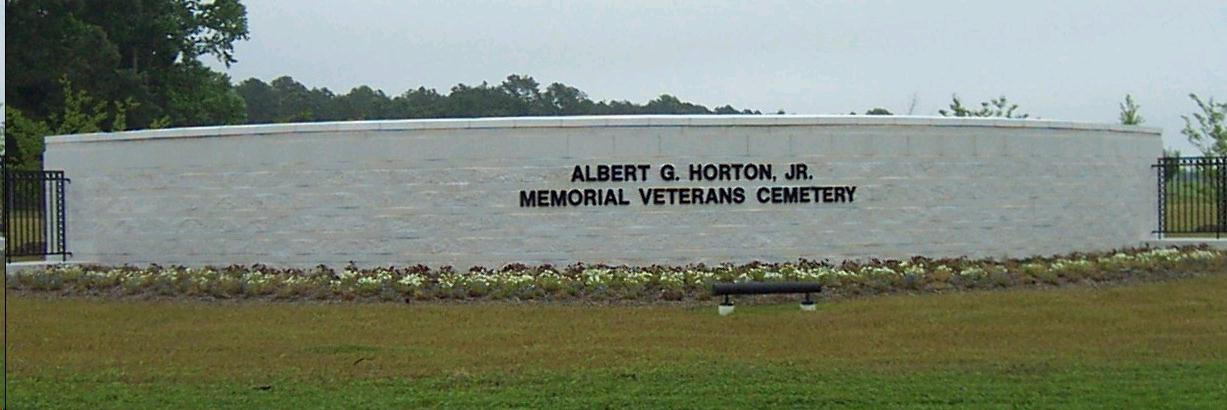 Albert G. Horton Jr. Memorial Veterans Cemetery