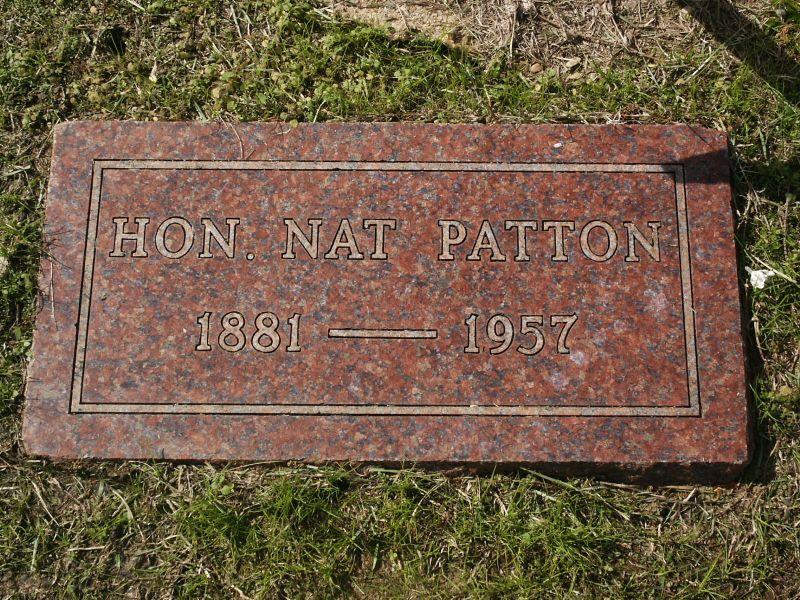Nathaniel Albright Nat Patton, Sr