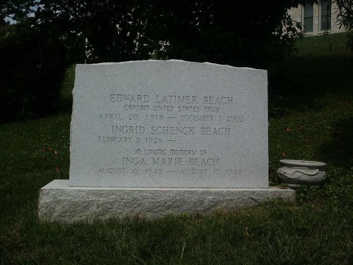 Edward Latimer Ned Beach, Jr