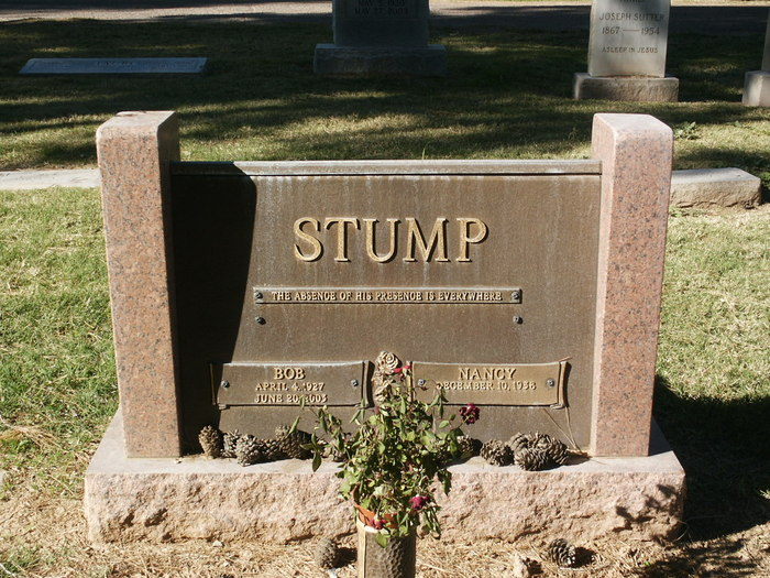 Robert Lee Bob Stump