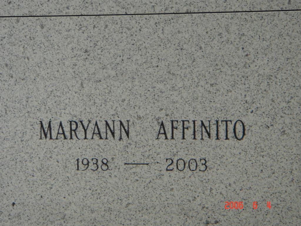 Maryann Affinito
