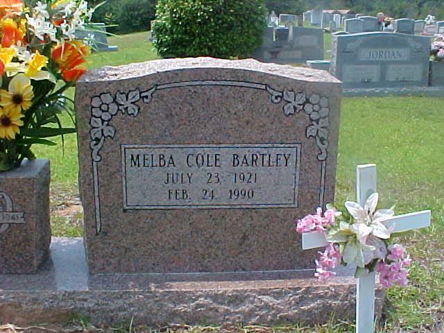 Melba <i>Cole</i> Bartley