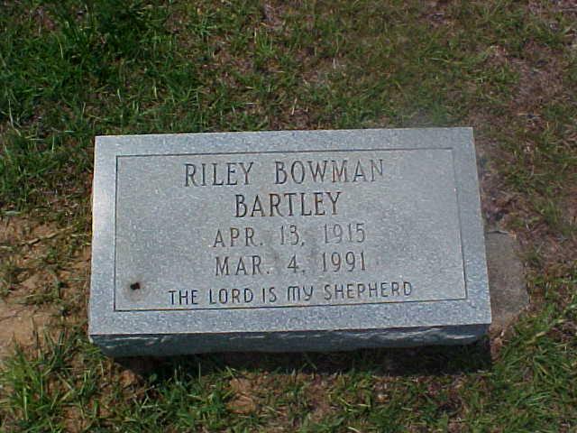 Riley Bowman Bartley