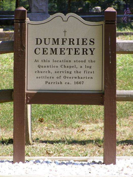 Dumfries Public Cemetery