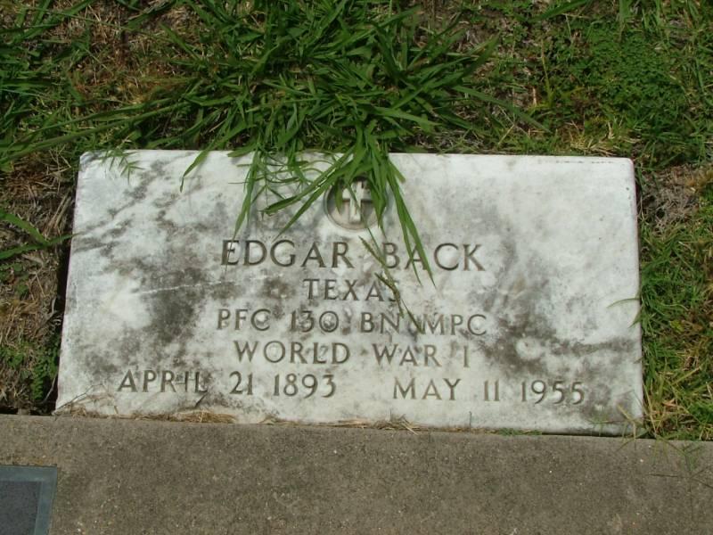 Edgar Back