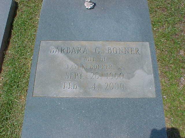 Barbara G. Bonner
