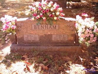 Etta E <i>Cash</i> Benham