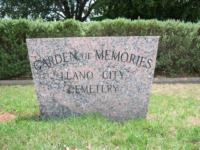 Llano City Cemetery