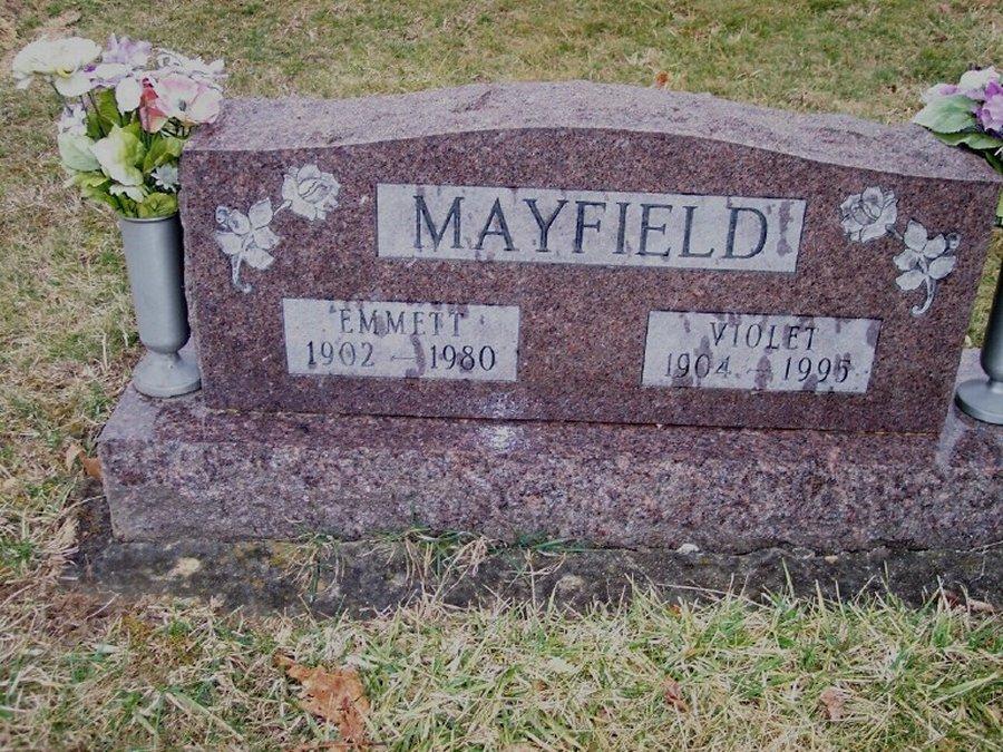 M. Violet <i>Snyder</i> Mayfield