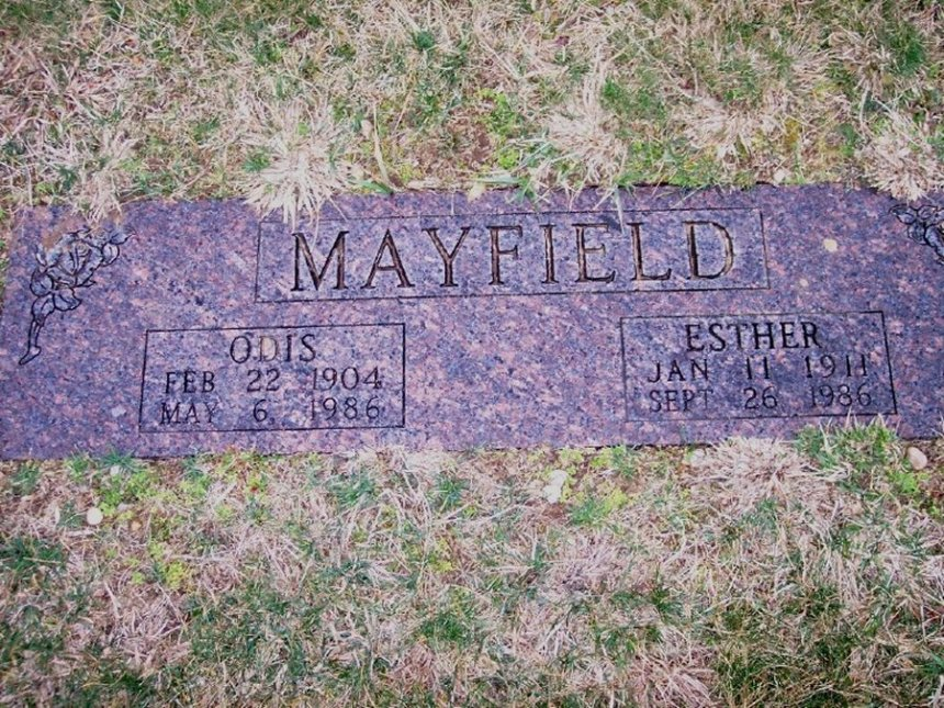 Esther <i>Carson</i> Mayfield