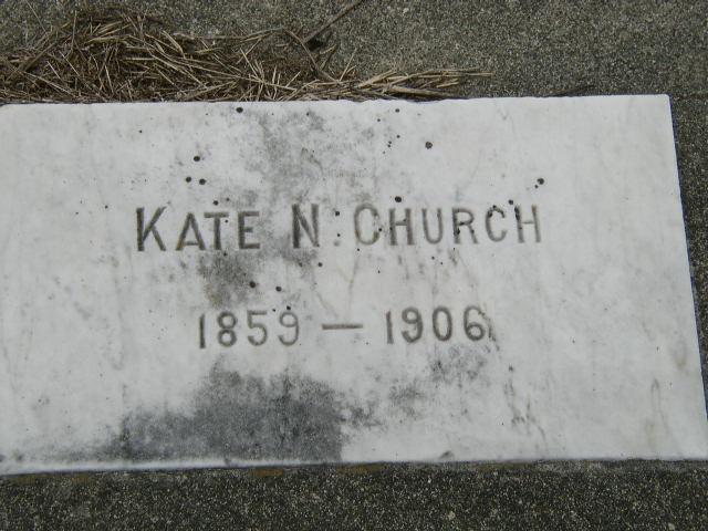 Kate <i>Newman</i> Church