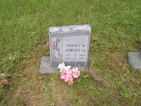 Horace W Adkins, Sr