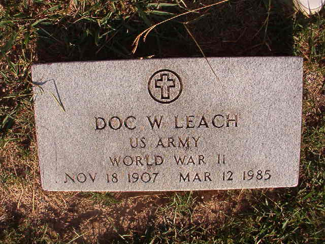Doc W. Leach
