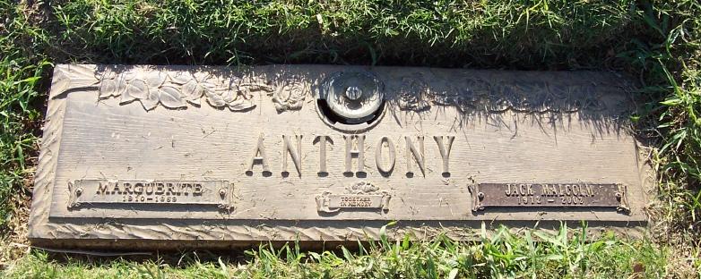Margurite <i>Barrow</i> Anthony