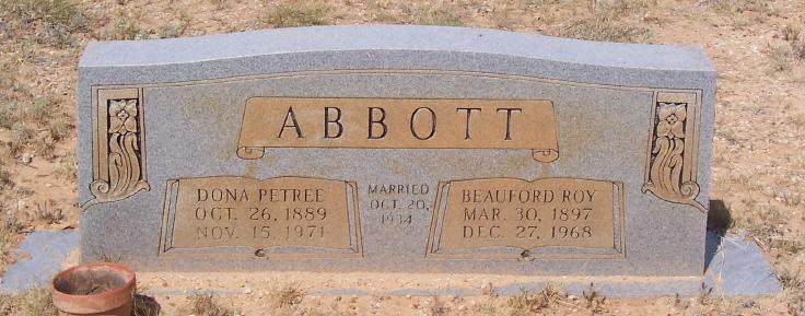 Nancy Caldona Dona <i>Petree Kirkendall</i> Abbott