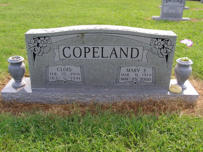 Mary E. <i>Massey</i> Copeland