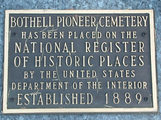 Bothell Pioneer Cemetery