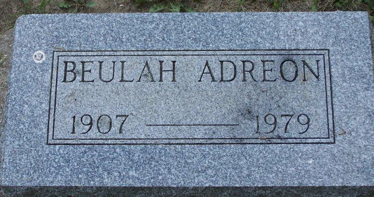 Beulah <i>Osborn</i> Adreon