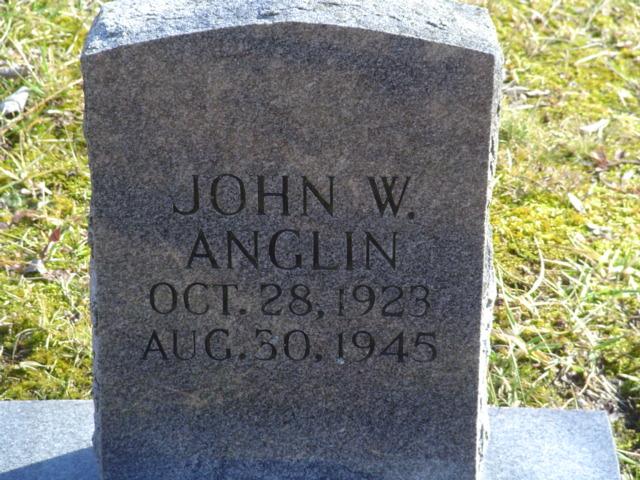 John W Anglin