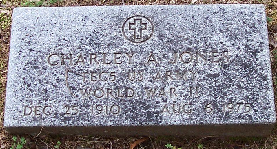 Charles A Charley Jones