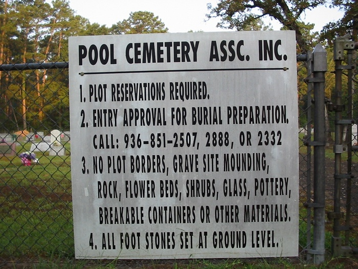 Pool Cemetery