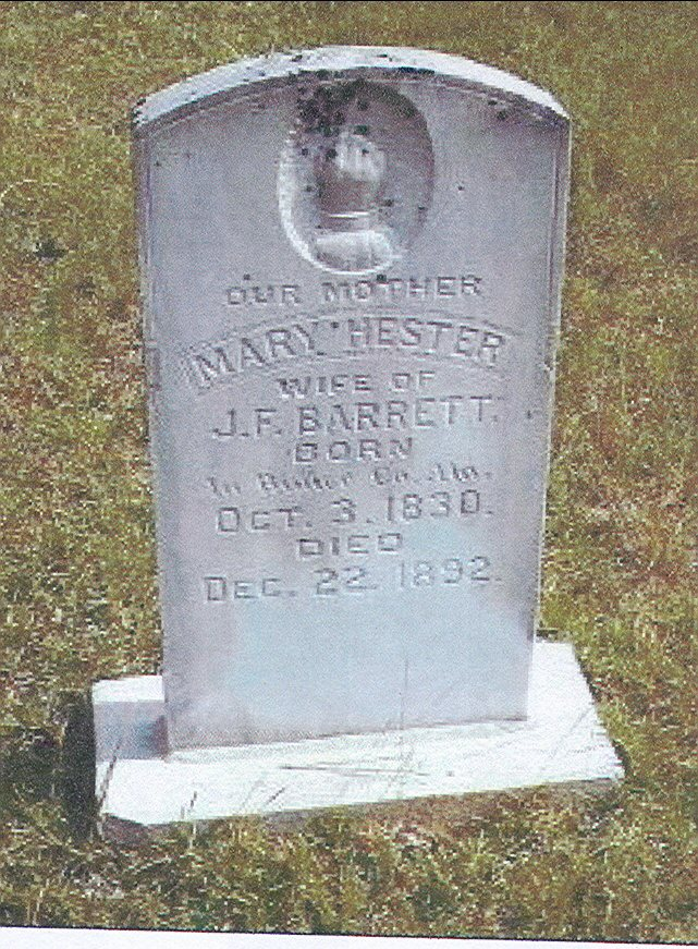 Mary <i>Hester</i> Barrett