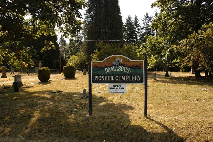 Damascus Pioneer Cemetery