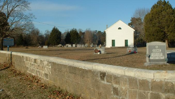Cow Marsh Baptist Church Cemetery