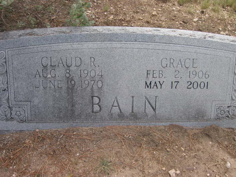 Claud R Bain
