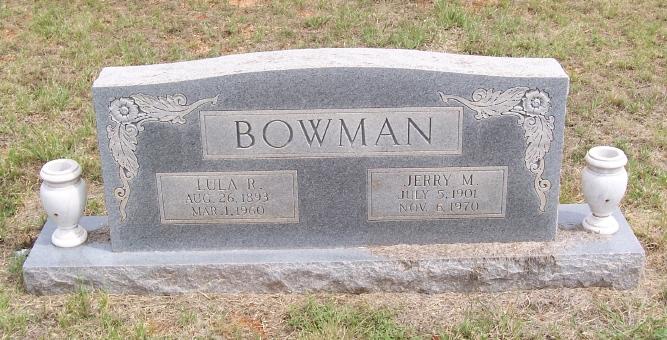 Jerry M Bowman