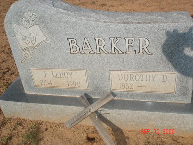 J Leroy Barker