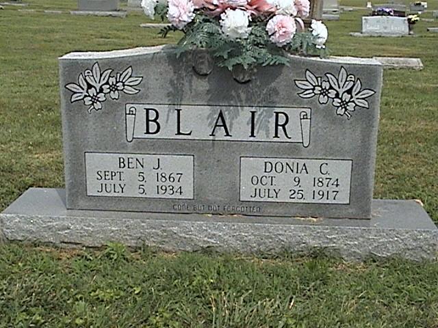 Callie Donia <i>Shoemake</i> Blair