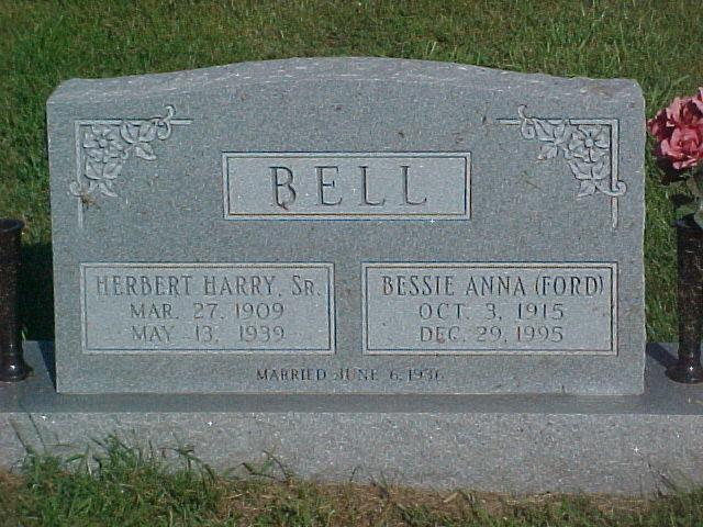 Bessie Anna <i>Brown</i> Ford