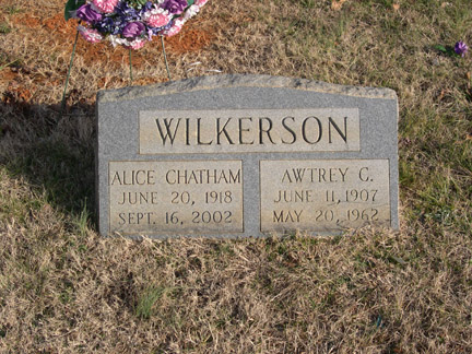 Awtrey C Wilkerson