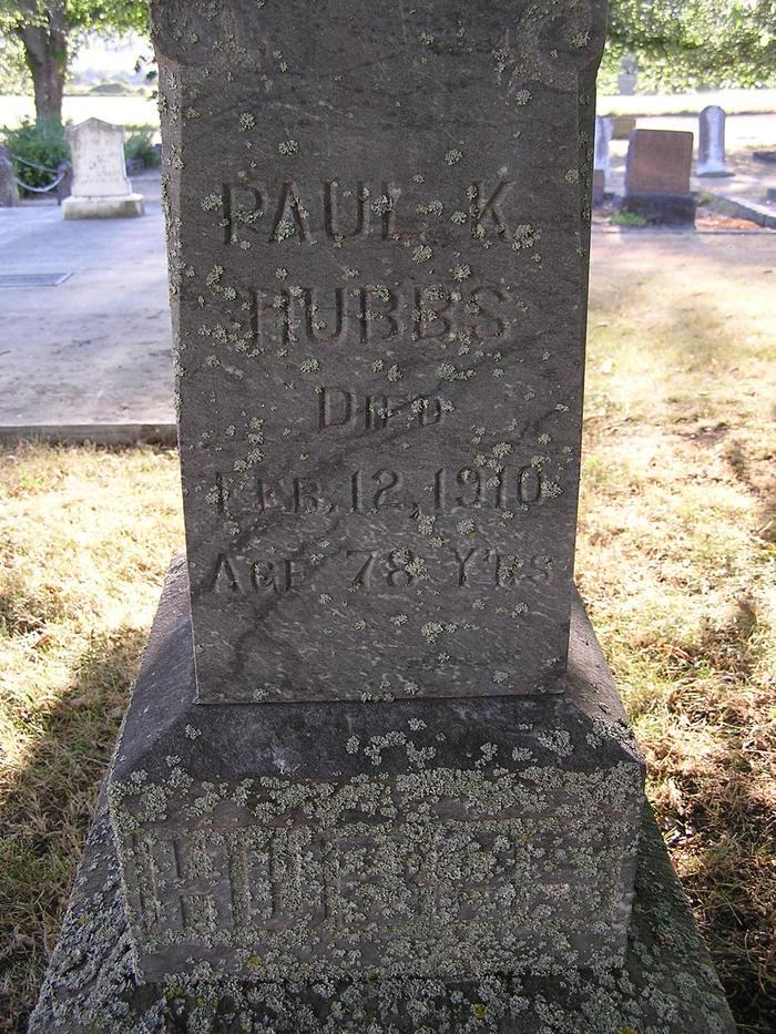 Paul Krispin Hubbs, Jr