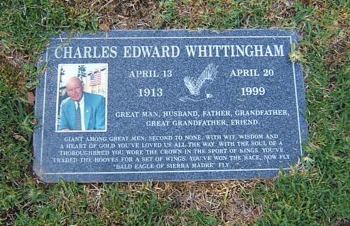 Charlie Edward Whittingham 1913 1999 Find A Grave
