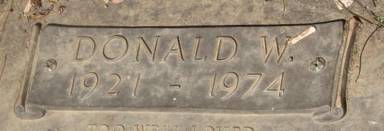 Donald W. McCafferty