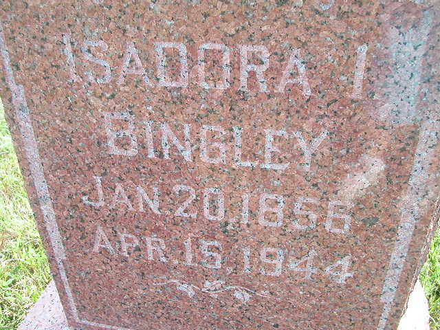 Isadora I. Bingley