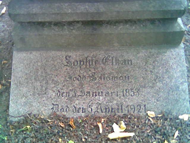 Sophie <i>Salomon</i> Elkan