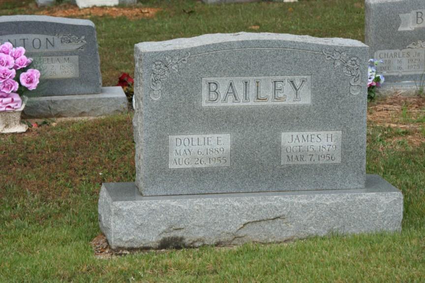 Elizabeth Dollie Ellen <i>Jarvis</i> Bailey